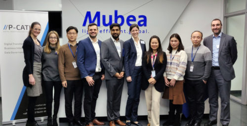 Workshop at Mubea in Taicang