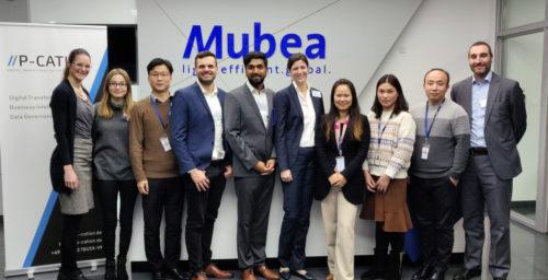Workshop at Mubea in Taicang