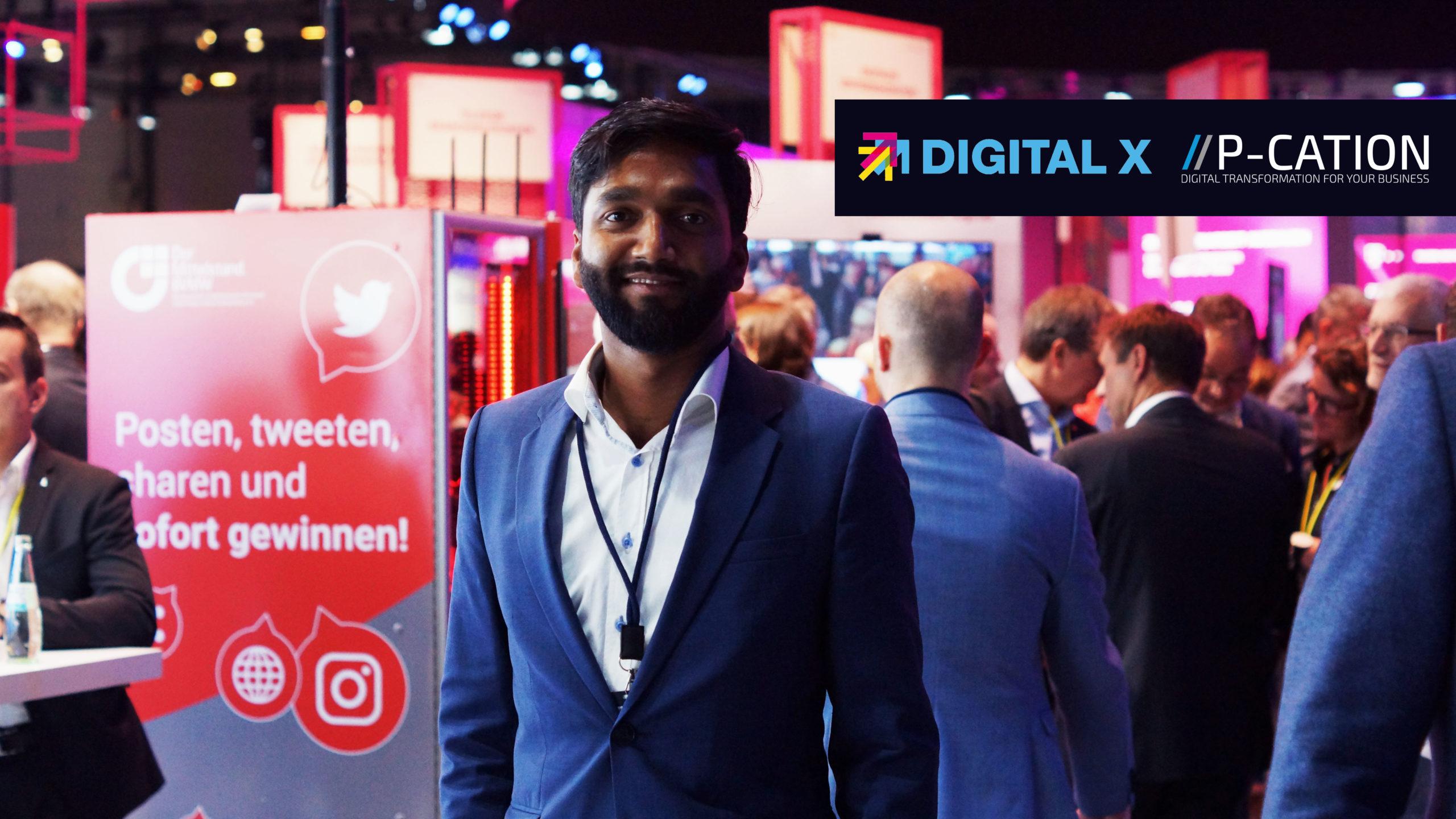 P-CATION auf der Digital X in Köln 2019